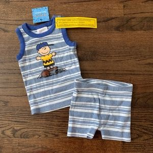 NWT Hanna Andersson Outfit Size 9-12M (70)